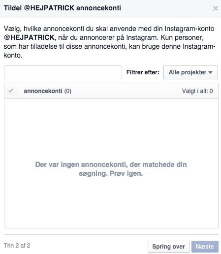 Instagram Annoncer Facebook Power Editor