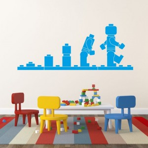 lego-evolution billige wallstickers